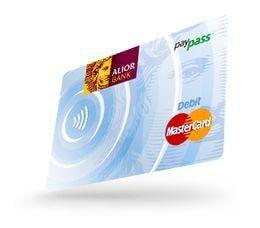 Konto bez opłat - karta MasterCard NFC