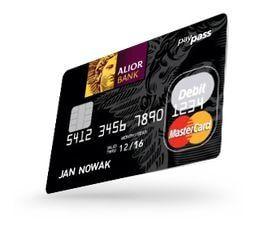 Konto Wyższej Jakości - karta MasterCard PayPass