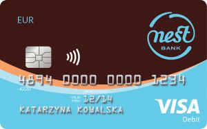 Nest Konto Waluta - Visa Classic