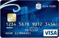 Rachunek walutowy PKO - karta Visa