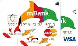 Wydanie karty MasterCard/Visa jest bezpłatne