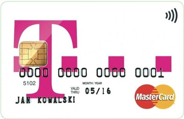 T - Mobile - karta MasterCard