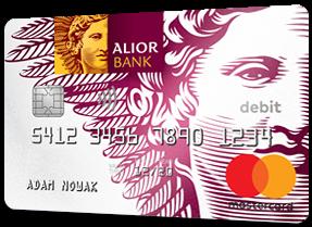 Konto Jakże Osobiste - karta Mastercard Debit