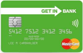 Standardowa karta debetowa MasterCard PayPass