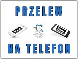Przelew na telefon