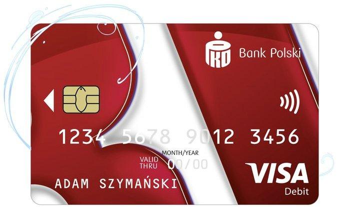 Konto bez Granic PKO BP - Karta Visa PKO Ekspres