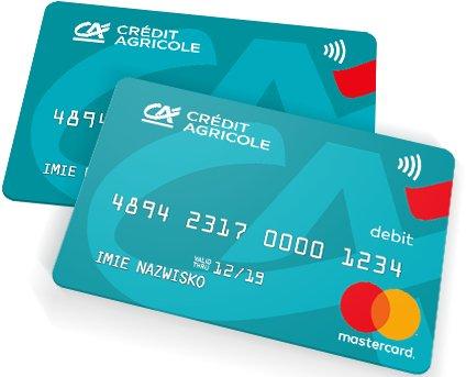 Konto dla Ciebie - karty płatnicze