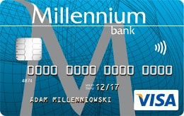 Konto 360 - karta płatnicza Visa