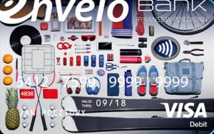 Konto Envelo - karta płatnicza Visa