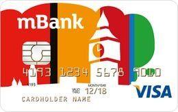 Konto walutowe mBank - karta GBP
