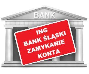 Jak zamknąć konto w ING Bank Śląski